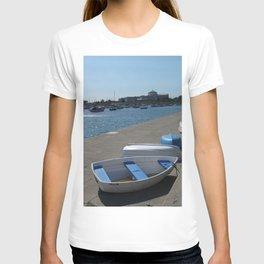 Chicago Shoreline, Natural History Museum, Sailboats T-shirt