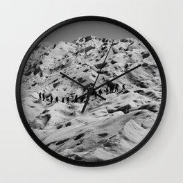 Moon Walkers Wall Clock