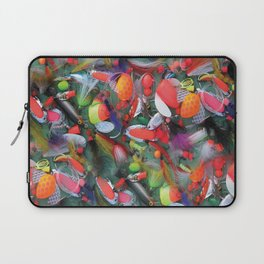 Alaskan Tackle Box by Crow Creek Coolture Laptop Sleeve