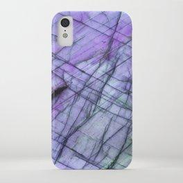 Purple Labradorite iPhone Case