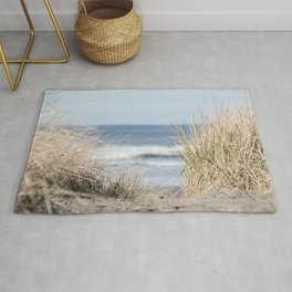 The Beach Beckons    Path To Ocean Shore Rug