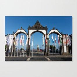 Ponta Delgada Canvas Print
