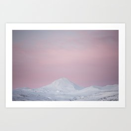 Candy mountain - Landscape and Nature Photography Art Print