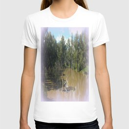 Dead trees Scuplture T-shirt