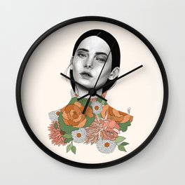 You Can Find Me In Spring Wall Clock
