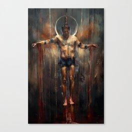 L'Impiccato Canvas Print