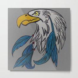 dreamcatching eagle Metal Print