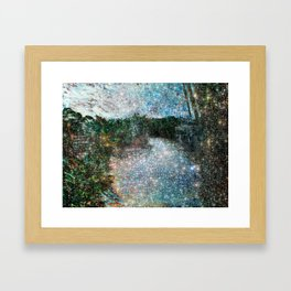 Riverwalking Framed Art Print