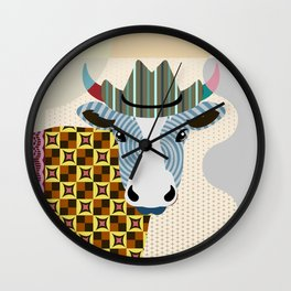 Authentic Cowboy Wall Clock