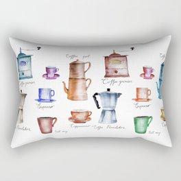 Coffee Time! Rectangular Pillow