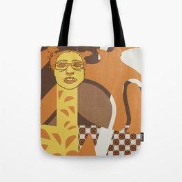 Giraffe wannabe Tote Bag