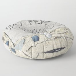 May Peace Prevail on Earth Floor Pillow