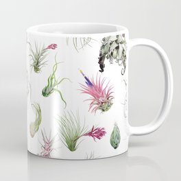 Tillandsia white Coffee Mug