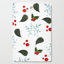 Christmas Mistletoes Cutting Board