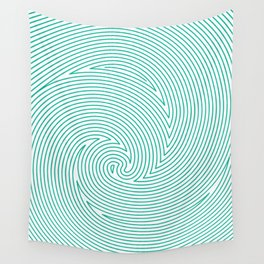 digital wave Wall Tapestry