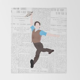 NEWSIES – LOGO Throw Blanket
