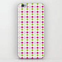 polka dot iPhone & iPod Skins featuring Polka Dot by Ryan Grice
