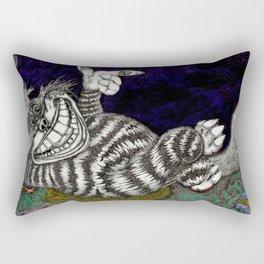 Cheshire Cat Hi-Def Rectangular Pillow
