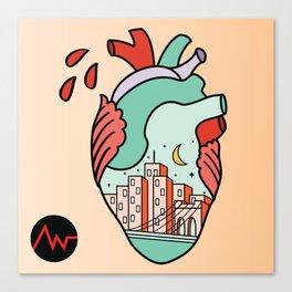 I Heart NY Canvas Print