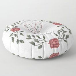 Broken Heart Floor Pillow