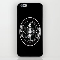 cafe racer iPhone & iPod Skins featuring Cafe Racer  by Peter G. Brandt