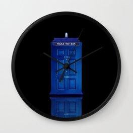 Tardis Holmes Wall Clock