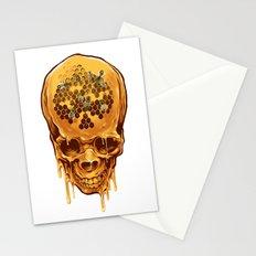 skull of honey Stationery Cards