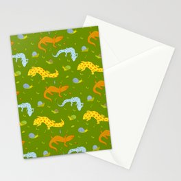 Garden crawlers Stationery Cards