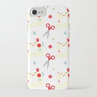 sewing iPhone & iPod Cases featuring Sewing fun by Samantha Eynon