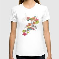 country T-shirts featuring Country Garden by Amanda Dilworth