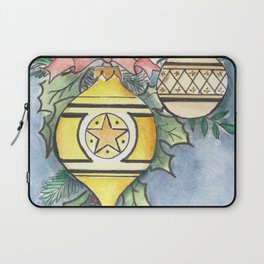 Evergreen and Gold I Laptop Sleeve
