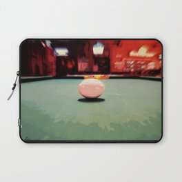 Cue Ball Abstract  Laptop Sleeve