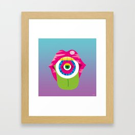 whistleburg - watch your mouth Framed Art Print