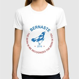 Bernie Sanders Bernaste CIRCLE Bernaste Election Election Party Vote For Bernie Ladies Tops Mens Tee T-shirt