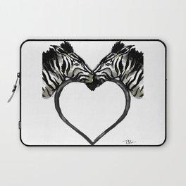 Zebra Love Laptop Sleeve