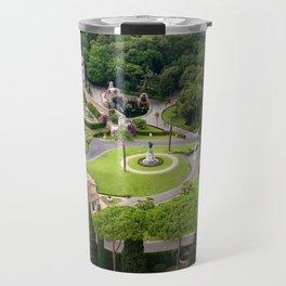 Vatican Gardens Travel Mug