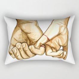 Pinky Promise Rectangular Pillow