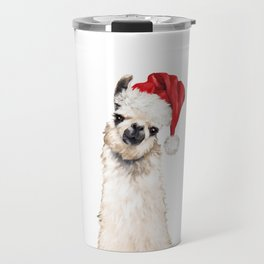 Christmas Llama Travel Mug