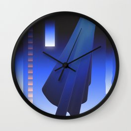 Crepuscular Motions - Composition 12 Wall Clock