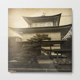 Golden Temple Kyoto Metal Print