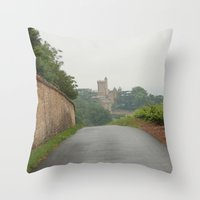 france Throw Pillows featuring France by LonelyHeartsClub