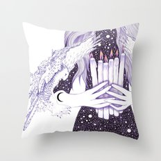 Nightwalker Throw Pillow