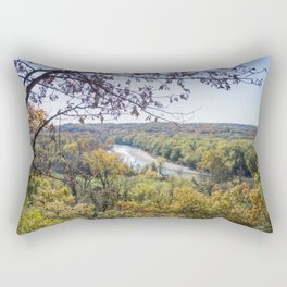 Castlewood - Fall Autumn Forest Photography Rectangular Pillow