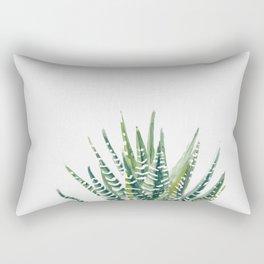 Zebra Cactus Rectangular Pillow