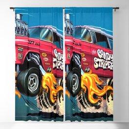 Hot Wheels Candy Striper 55 Gasser Poster Blackout Curtain