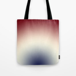Radical Red White Blue Tote Bag