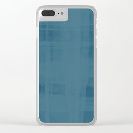 Flannel Layering in Steel Wool Clear iPhone Case
