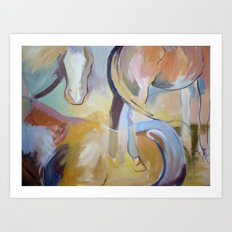 Bits and Pieces  Art Print