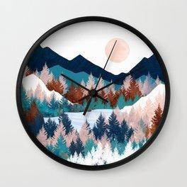 Summer Trees Wall Clock