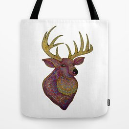 Darling, Detailed Deer Tote Bag